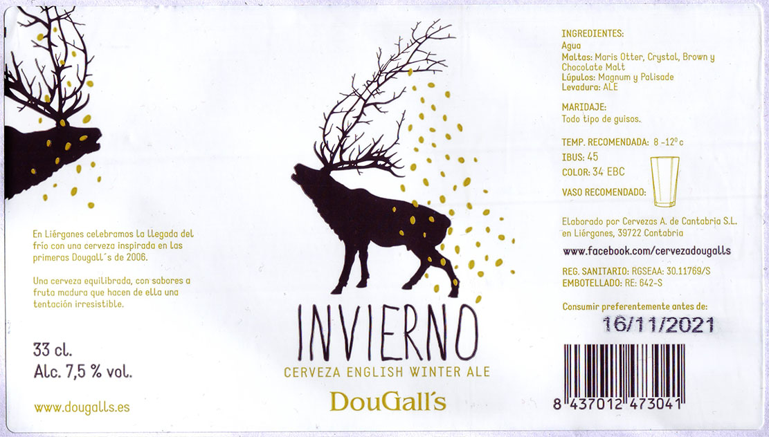 Juzgado de Etiquetas: DouGall's Invierno