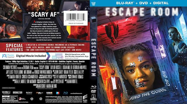 Escape Room Bluray Cover