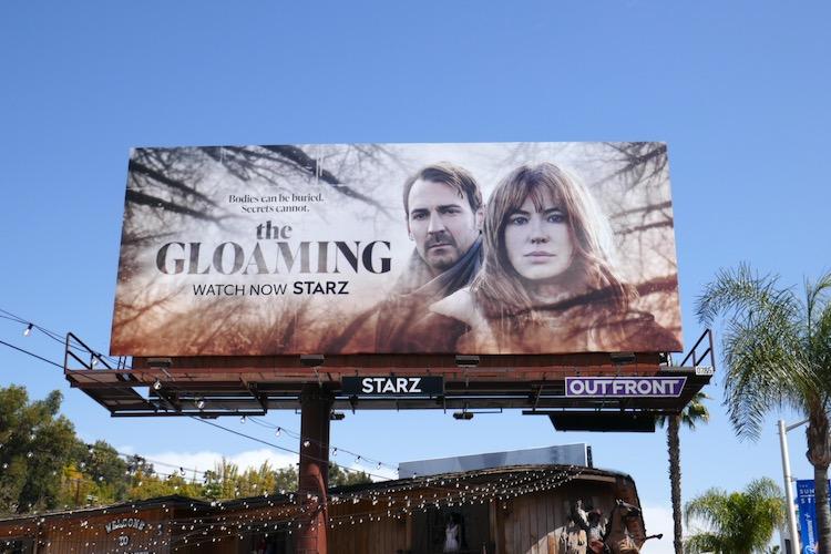 Gloaming TV series billboard