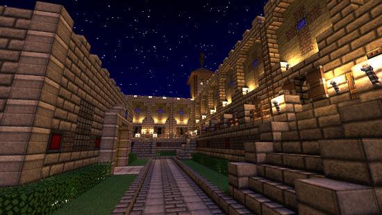 Minecraft - Un Château la Nuit - Full HD 1080p