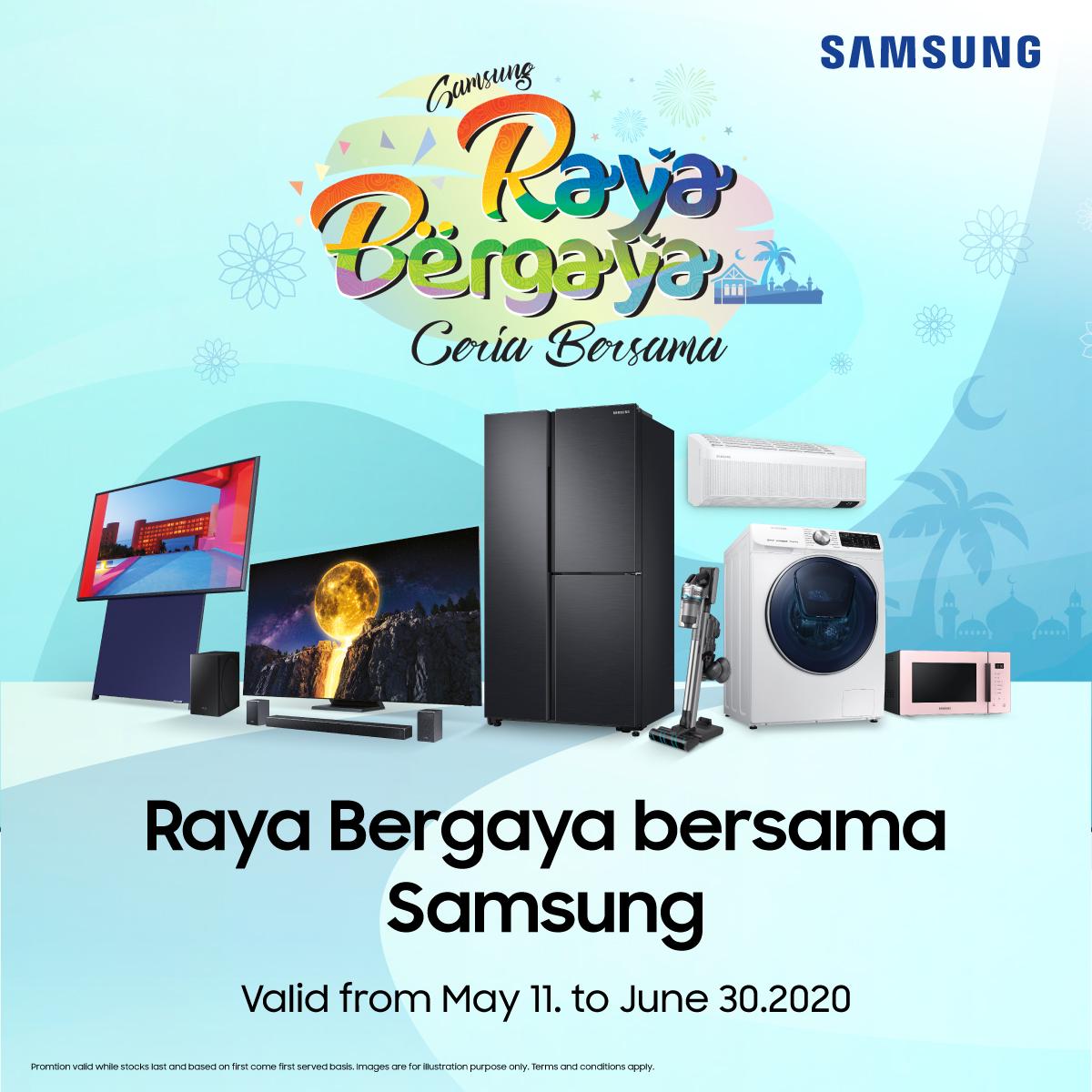 Raya Bergaya with Samsung Malaysia