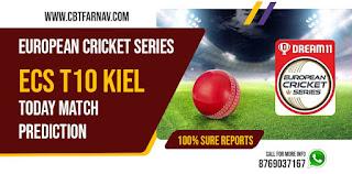 Moorburger TSV vs Moorburger TSV 8th Match Kiel ECS T10 european cricket league t10 today match prediction ecs t10 dream11 prediction today