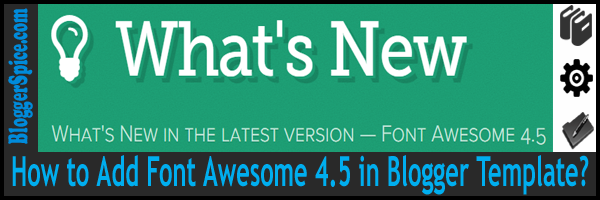 latest font awesome for blogging