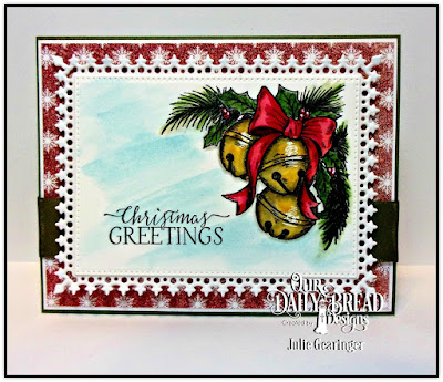 Our Daily Bread Designs Stamp Set: Jingle Bell Time, Our Daily Bread Designs Custom Dies:  Lavish Layers, Pierced Rectangles, Our Daily Bread Designs Paper Collection: Snowflake Season