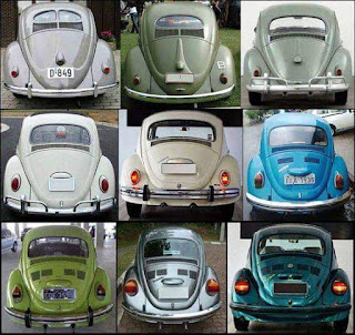 Evolusi VW Kodok dari Split Window sampai Super Beetle (1302, 1303)
