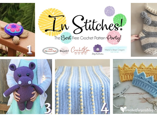 Best Free Crochet Patterns - In Stitches Link Up Party Week #27