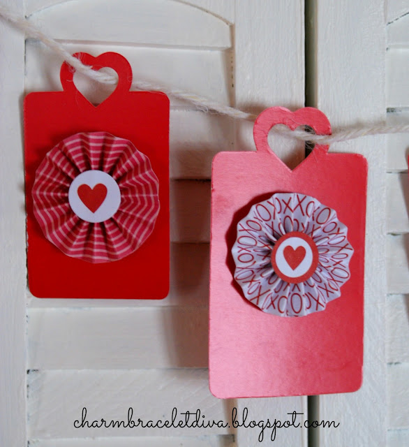 DIY Valentine's Day banner decor