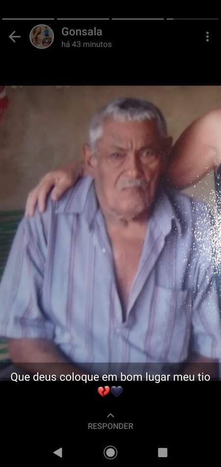 LUTO: Morador do povoado Santa Helena em Elesbão Veloso, aposentado Luis Gomes morre aos 90 anos