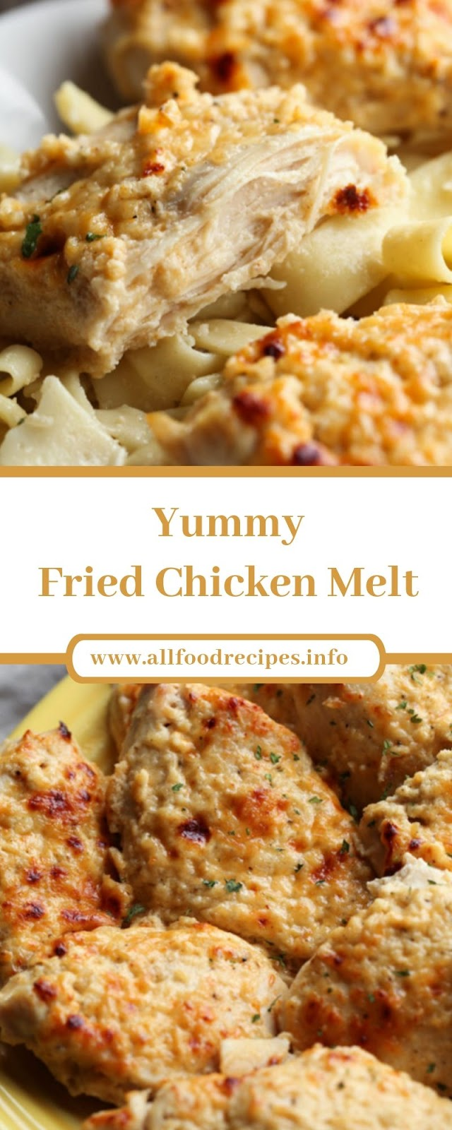 Yummy Fried Chicken Melt