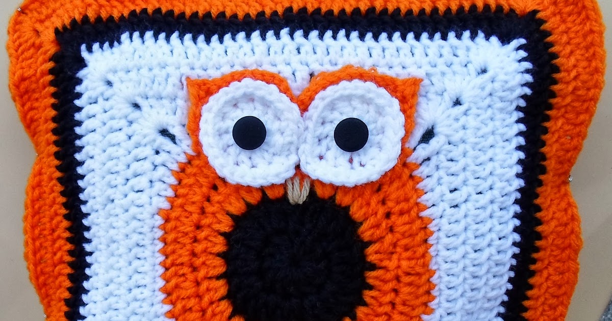 Happier Than A Pig In Mud Crochet Owl Pillow Cover Pattern