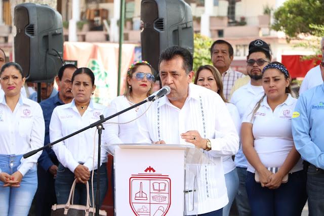 Apatzingán recupera la confianza en sus autoridades: JLCL