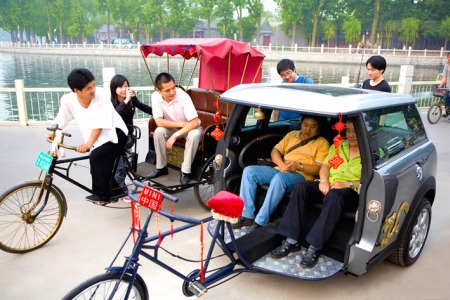 Becak China Termewah di Dunia