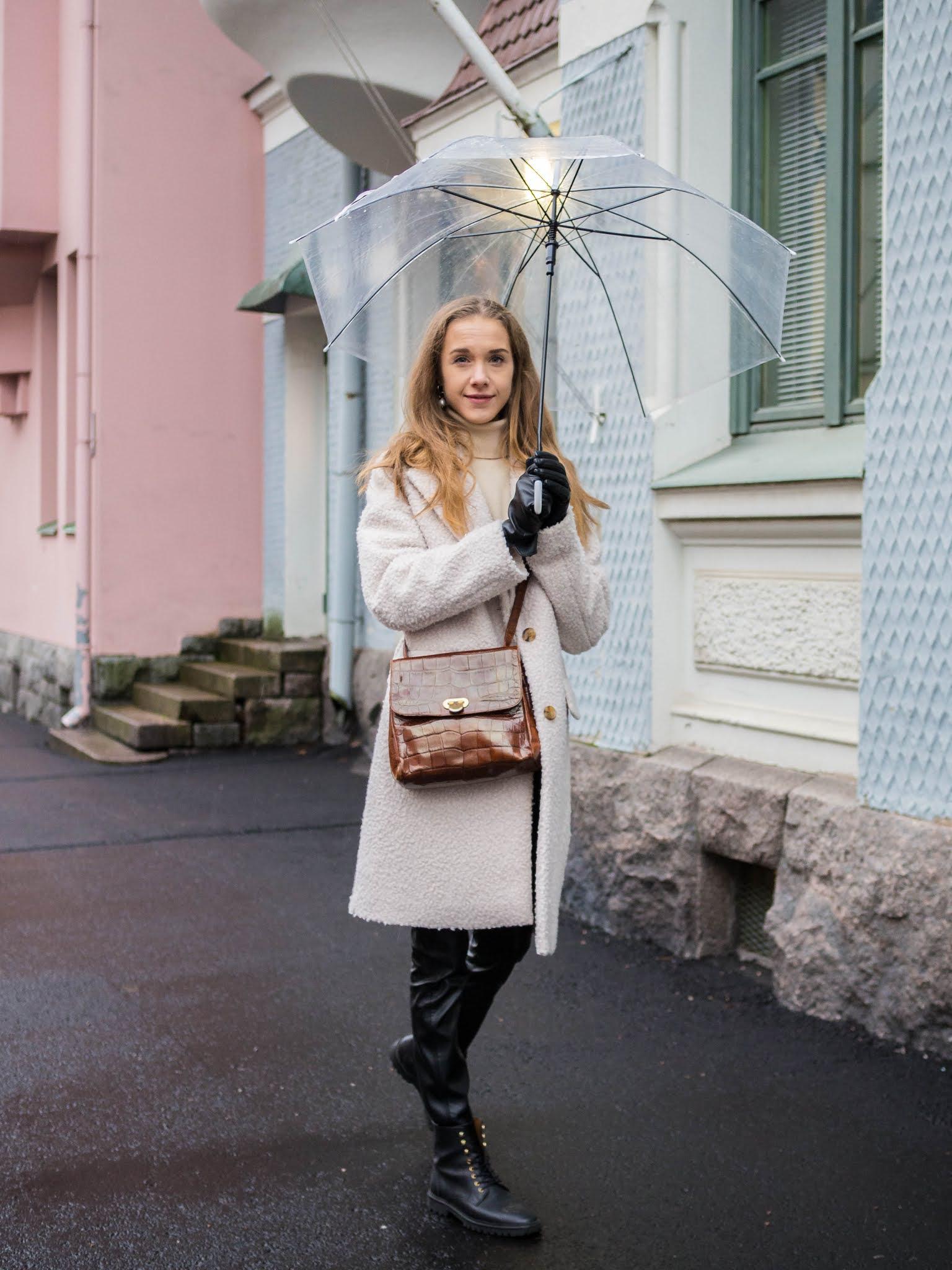 Sateisen päivän asu // Rainy day outfit