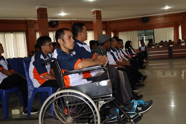 Penyandang Disabilitas di OKI Kian Diperhatikan