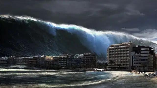 أمواج تسونامي ضخمة قد تضرب الساحل المغربي