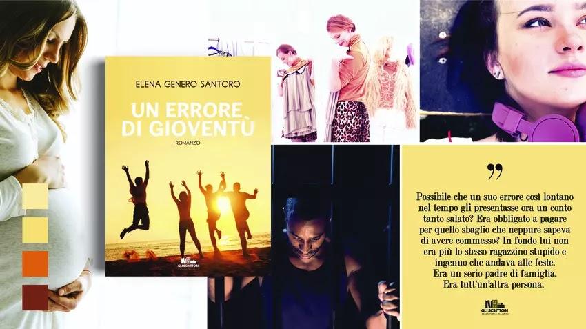Un errore di gioventù, un romanzo di Elena Genero Santoro