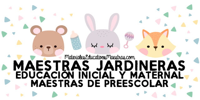 Maestras Jardineras, educación Inicial y Maternal