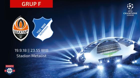 Streaming Shakhtar Donetsk vs TSG Hoffenheim