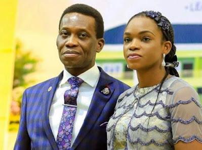 My husband didn't die, but sleeping, says Pastor Adeboye's Late Son's Widow