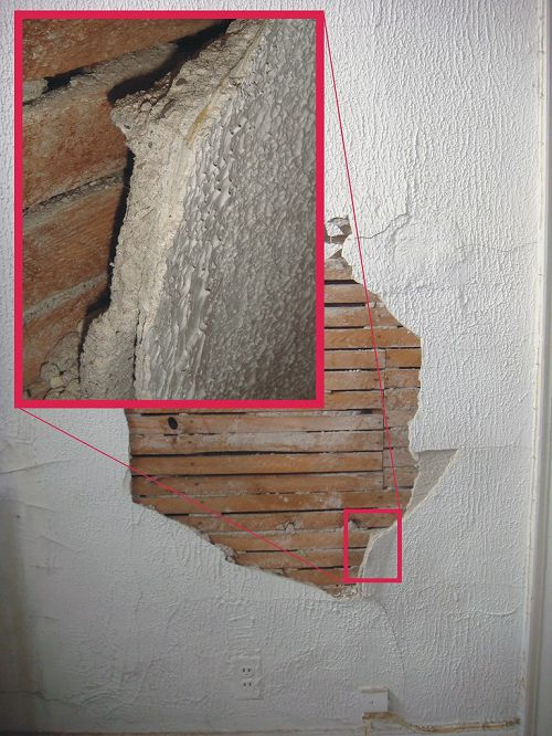 Image Asbestos in House Walls