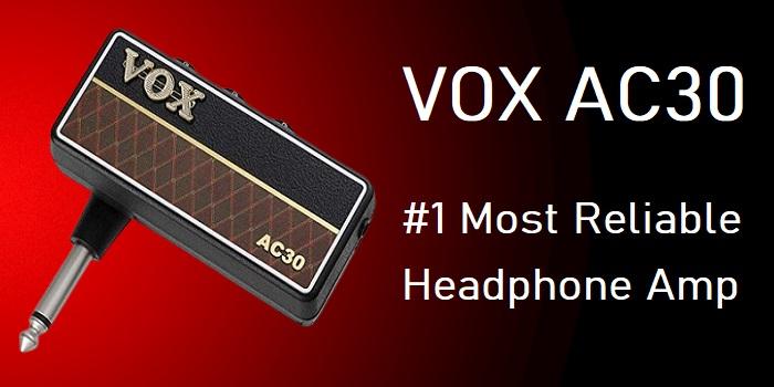 VOX amPlug 2 AC30 – Best Guitar/Bass Headphone Amplifier