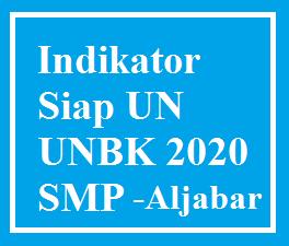 Indikator UN Materi Aljabar Siap UN-UNBK SMP tahun 2020 bocoran soal