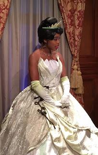 Princess Tiana Disney Parks Character