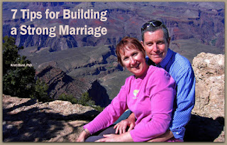 7 tips for building a strong marriage, kristi borst phd, author and husband at grand canyon
