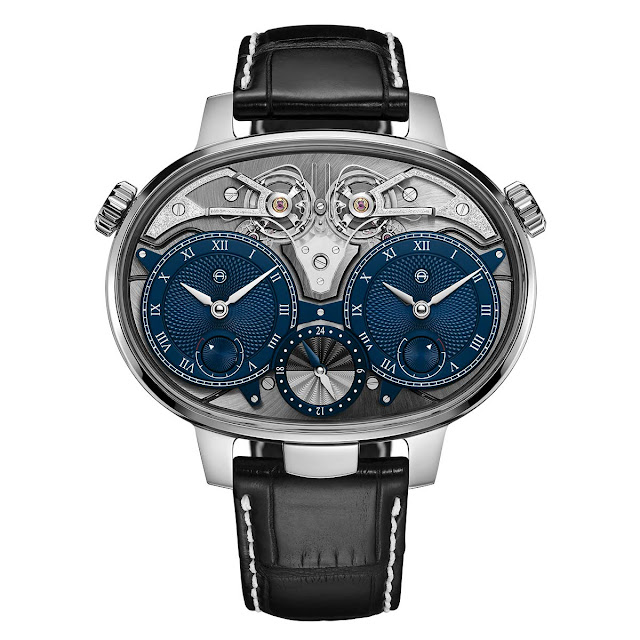 Armin Strom Dual Time Resonance in White Gold