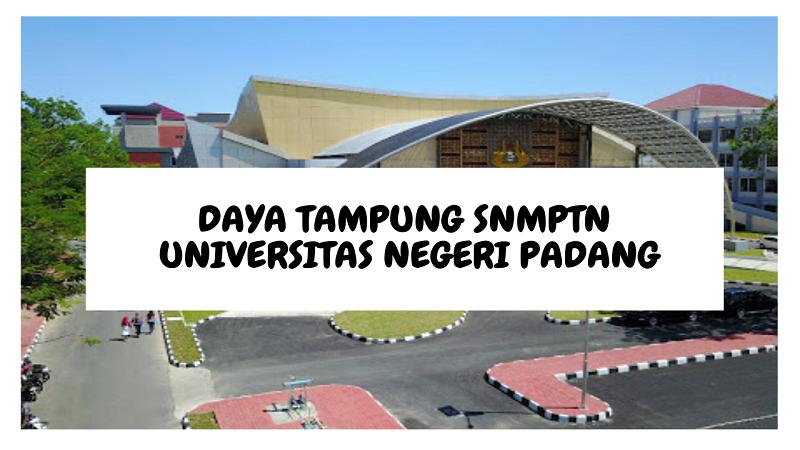 Daya Tampung SNMPTN UNP 2022/2023 (Universitas Negeri Padang)