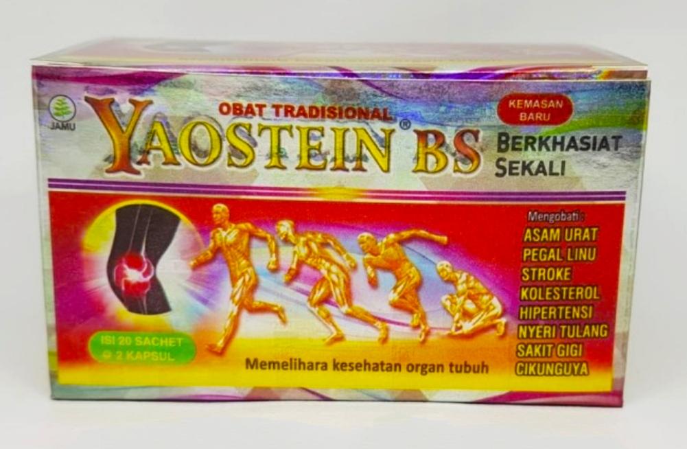 jual yaostein bs jamu asam urat dan kolesterol di surabaya