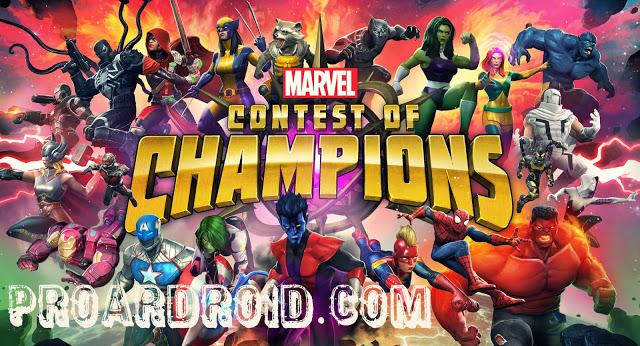 لعبة MARVEL Contest of Champions v21.0.0 مهكرة للاندرويد (اخر اصدار) logo