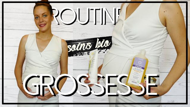 ROUTINE SOINS GROSSESSE BIO ET NATURELLE | Visage, corps et cheveux