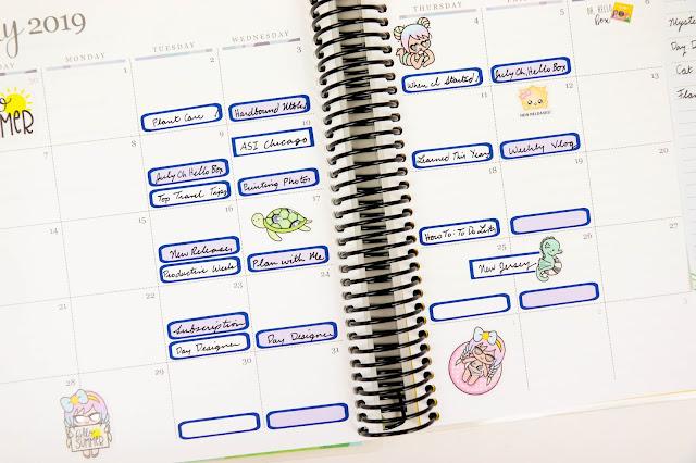 My Blog Content Calendar