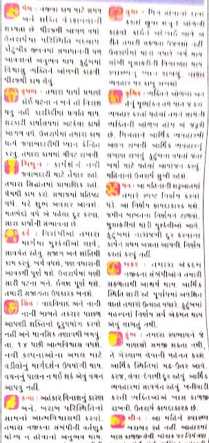 April - Gujarati Rashifal and Rashi Bhavishya 2021