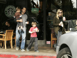 Pete, the wife, and the boys on a family outing