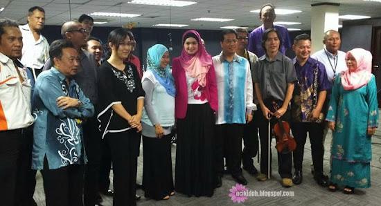 Dato Siti Nurhaliza Bersama Team Orkestra Dewan Bandaraya Kuala Lumpur