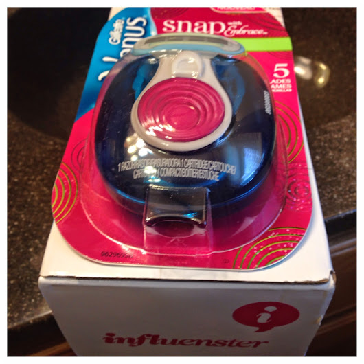 Influenster: Gillette Venus® Snap with Embrace (Review)