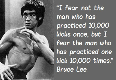 Bruce Lee Quotes On Practice