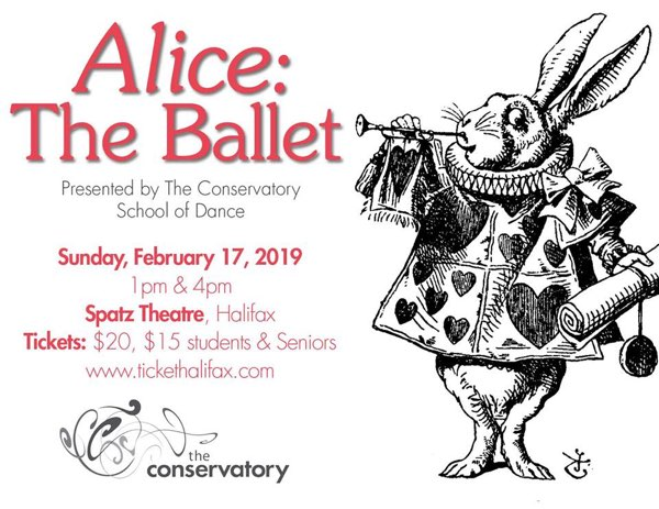 Alice the Ballet at the Spatz Theatre.