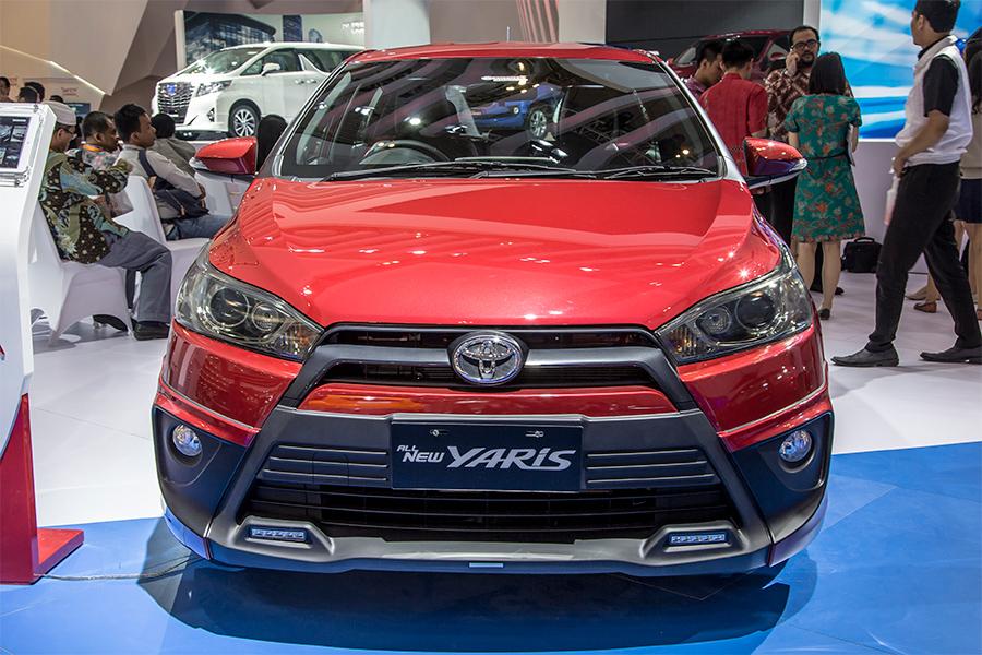 Spesifikasi All New Yaris Trd 2014 Aksesoris Grand Avanza 2016 Toyota Astra Indonesia Dari Ubahan Terakhir Kali Yang Dilakukan Oleh Tam Pada Tahun Menambahkan Tiga Varian Warna Baru Juga Identik Dengan