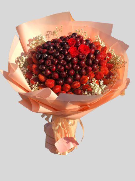 bo hoa cherry