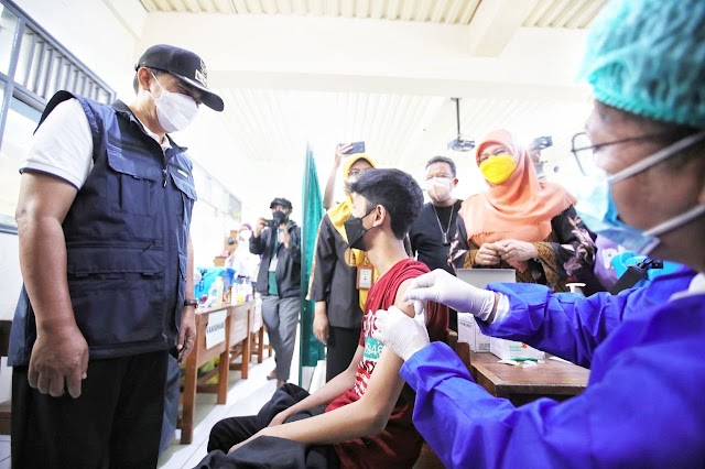 Genjot Vaksinasi Remaja, Pemkot Bandung  Berkolaborasi Semua Pihak