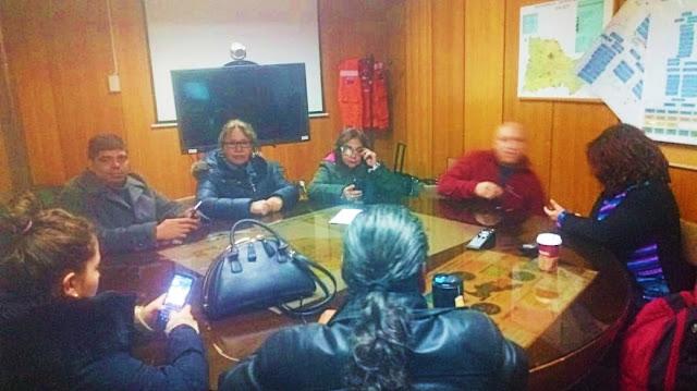 Dirigentes ocupan SSO