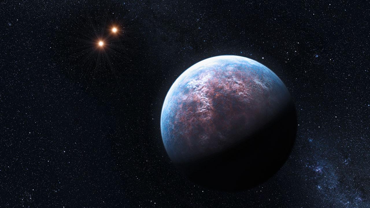 Muitos exoplanetas orbitam não uma, mas duas estrelas