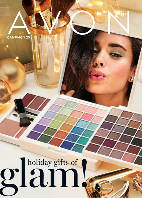 Avon Campaign 25 2019 Brochure - HOLIDAY GIFTS OF GLAM!