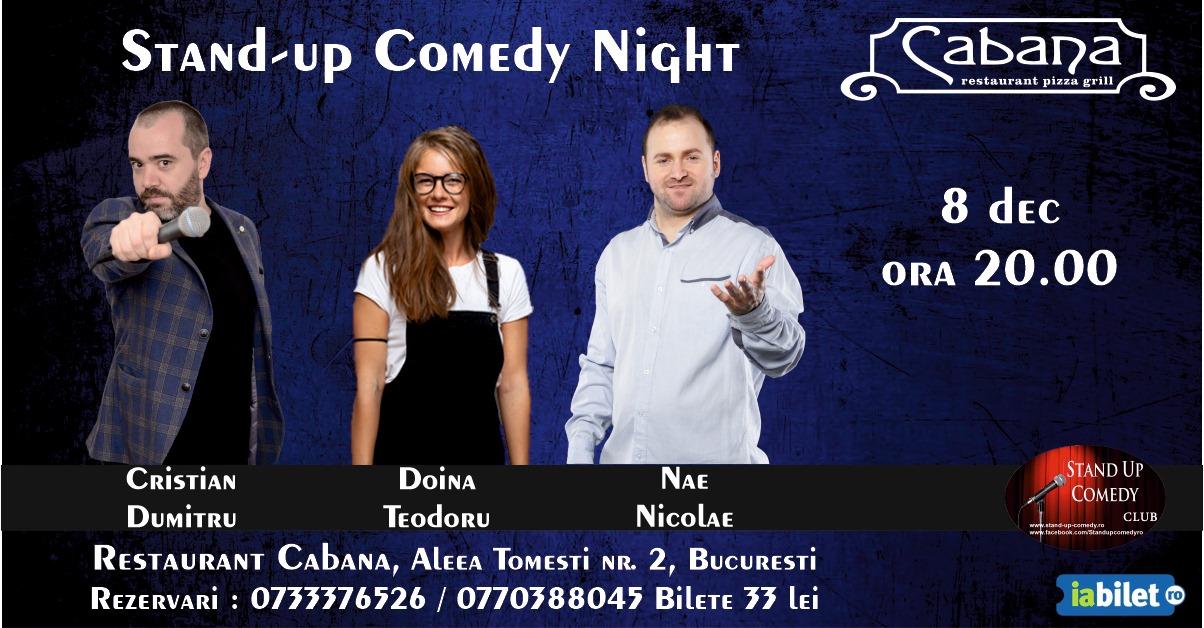 Stand-Up Comedy Bucuresti Duminica Seara