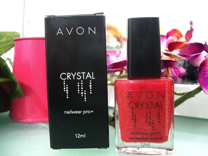 Esmalte Vermelho Crystal Avon