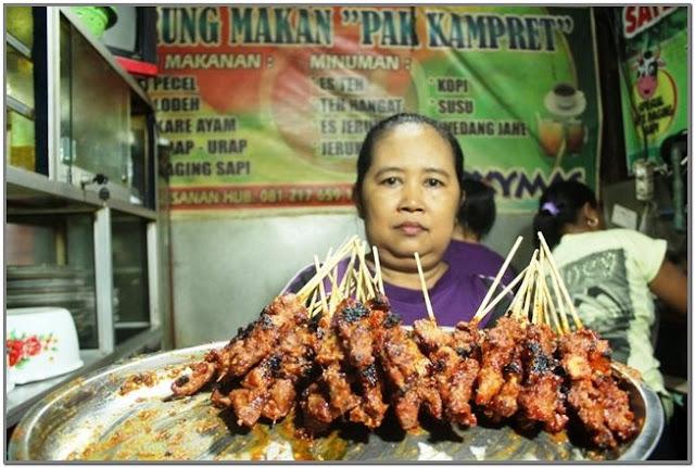 Sate Kampret;10 Top Kuliner Jombang
