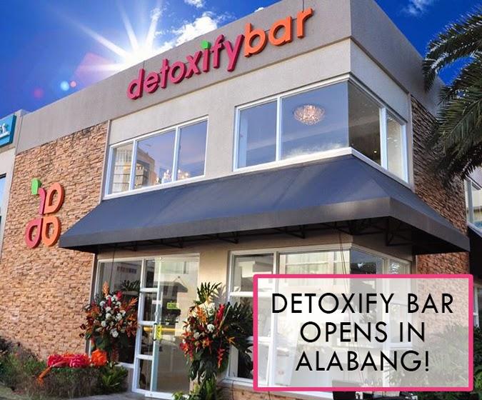Food News Detoxify Bar Opens Flagship Branch in Westgate Alabang